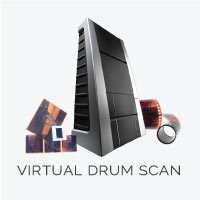 Virtual Drum Scan