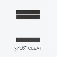 3/16 Cleat
